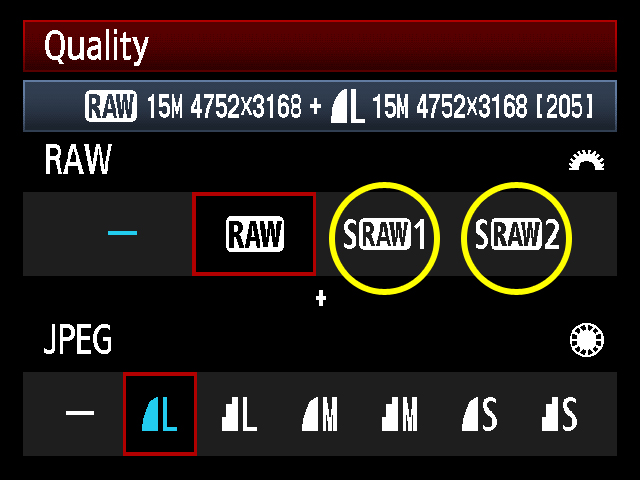 canon-raw-menu