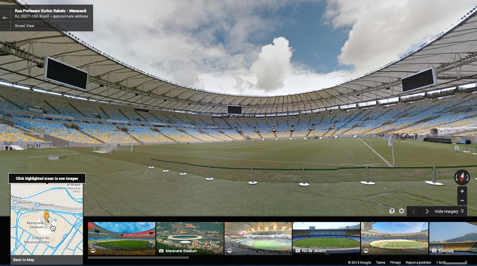 World Cup Google Street View